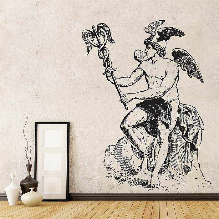 Tattoo Wall Art greek god vinyl wall art decal