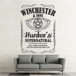 Winchester and Sons Supernatural Wall Art Decal