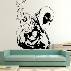 Deadpool Vinyl Wall Art Decal (WD-0946)