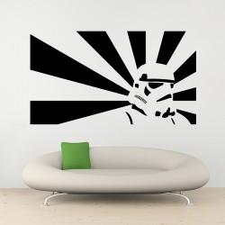 สติกเกอร์ติดผนัง ภาพ สตอร์มทรูปเปอร์ Stormtrooper Wall Sticker (WD-0958)