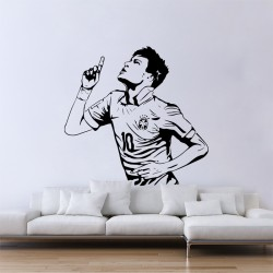 Neymar da Silva Soccer Football Player Vinyl Wall Art Decal (WD-0990)
