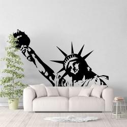สติกเกอร์ติดผนังเทพีเสรีภาพ / Wall Sticker Statue of Liberty (WD-1012)