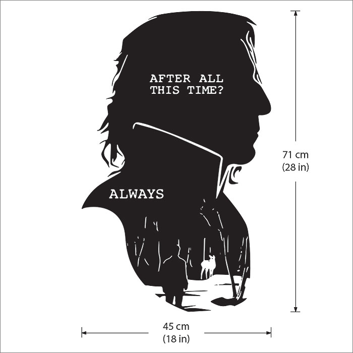 Severus Snape Harry Potter After All This Time Always