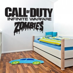 สติกเกอร์ติดผนังCall of duty infinite warfare zombie / Wall Sticker  (WD-1016)