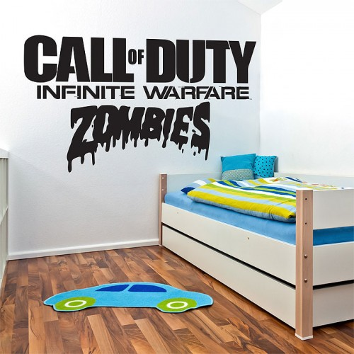 Call of duty infinite warfare zombie Vinyl Wall Art Decal