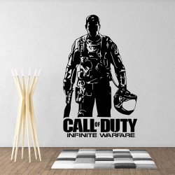 Soldier Game call of duty infinite warfare Vinyl Wall Art Decal (WD-1019)