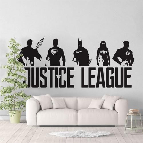 สติกเกอร์ติดผนังJustice League Super Heroes V3 / Wall Sticker