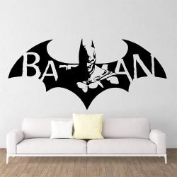 สติกเกอร์ติดผนังBatman Dark Knight Super Hero / Wall Sticker (WD-1027)