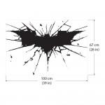 สติกเกอร์ติดผนัง Batman Dark Knight Logo / Wall Sticker