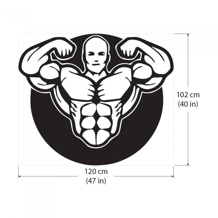 Bodybuilder Workout Motivation Fitness Sport Club Gym Vinyl Wall Art Decal