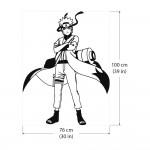 Naruto Manga Anime Japan สติกเกอร์ติดผนัง / Wall Sticker