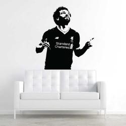 Mohamed Salah Liverpool FC Football Vinyl Wall Art Decal (WD-1102)