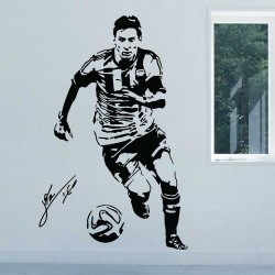 Lionel Messi Argentina Football Player Vinyl Wall Art Decal (WD-1111)