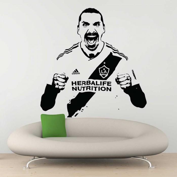 LA Galaxy soccer die cut sticker