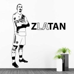 สติกเกอร์ติดผนัง ซลาตัน อีบราฮีมอวิช Zlatan Ibrahimovic LA Galaxy  / Wall Sticker  (WD-1128)