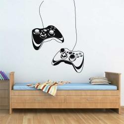 สติกเกอร์ติดผนัง เกมส์คอนโทรเลอร์  Game controller  / Wall Sticker  (WD-1131)