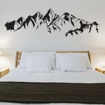 Mountain Vinyl Wall Art Decal
