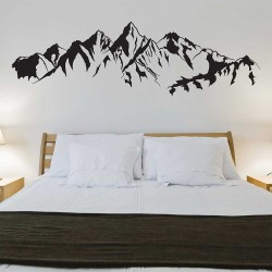 Mountain Vinyl Wall Art Decal (WD-1164)