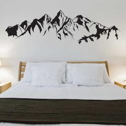 สติกเกอร์ติดผนัง ภูเขา Mountain  / Wall Sticker  (WD-1164)